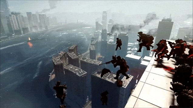 Witness The Glory Of A 64-Man Battlefield 4 Base Jump