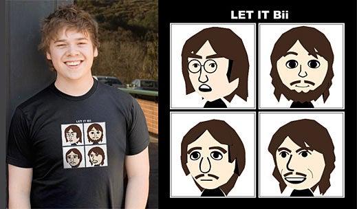 Beatles 'Let it Bii' Shirt Lacks Words of Wisdom