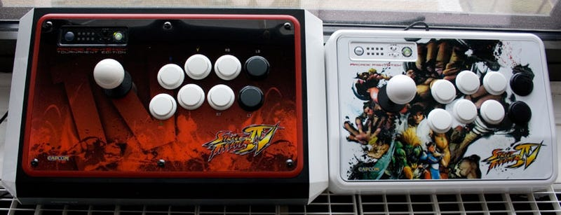 Mad Catz Street Fighter IV FightSticks Review