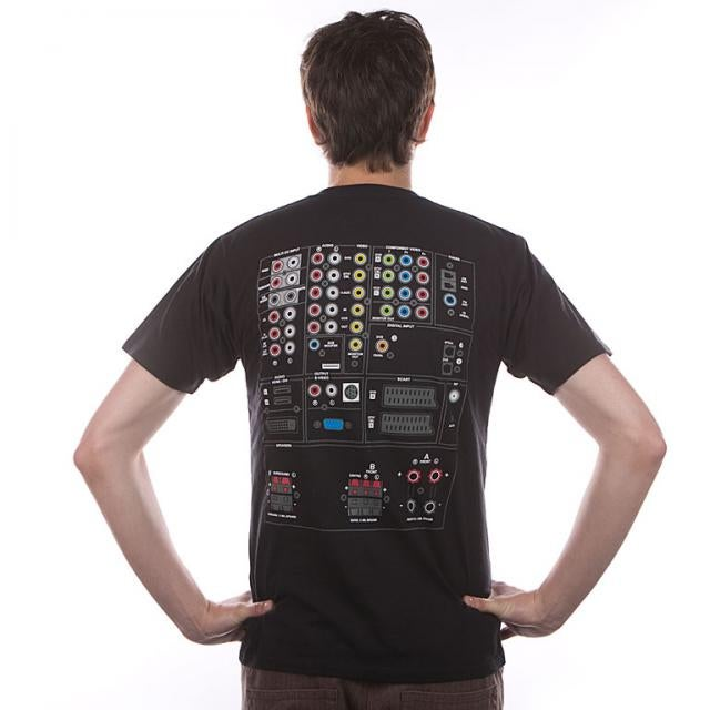 A/V Receiver Tee Declares Your Back THX Certified, Ready to Blast