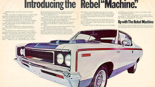 The ten most rebellious cars
