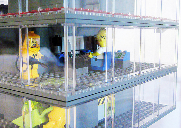 Springfield From The Simpsons, Rebuilt As A LEGO Town