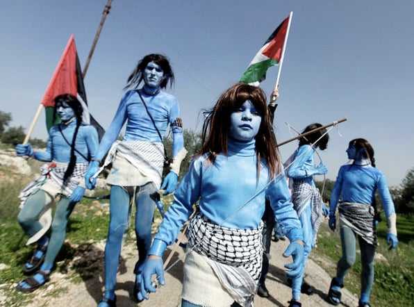 Avatar Sparks New Trend In Protest Chic