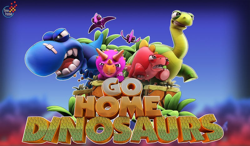 Go Home, Dinosaurs is the Name of a New PAX Video Game