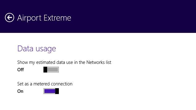 Tell Windows 8.1 You Have a Metered Connection to Restrict Data Usage