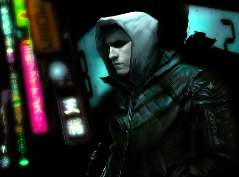 First Concept Art for the Neuromancer Movie!