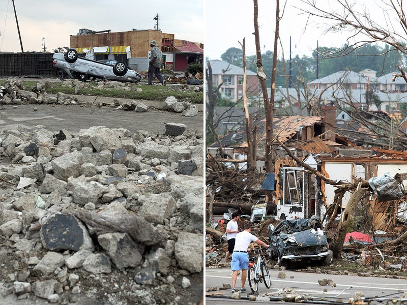 The Terrifying Mile-Wide Tornado That Just 'Obliterated' Tuscaloosa