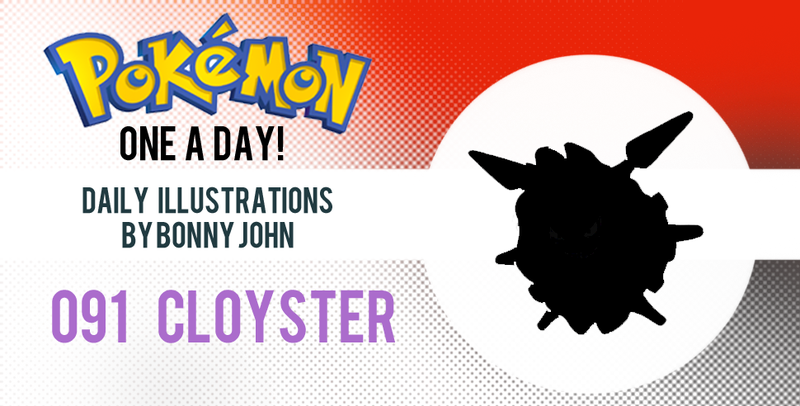 Clap for Cloyster! Pokemon One a Day!