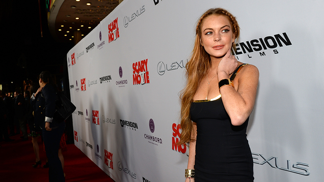 Lindsay Lohan Is Suing the<a href=