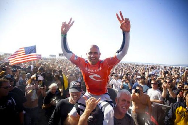 Kelly Slater Became the Oldest Surfer To Win An Award He Was Already The Youngest To Win