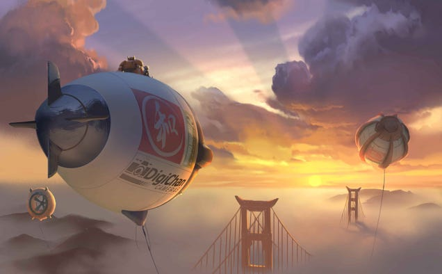 A Tour of 'San Fransokyo,' the Hybrid City Disney Built for Big Hero 6