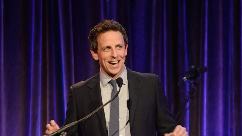NBC Welcomes Seth Meyers to Late Night with Hilariously Shitty Vine