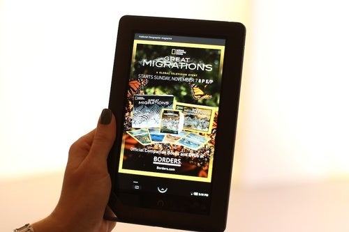 Nook Mock Up Hands On