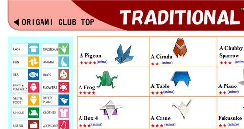 Learn How to Fold Thousands of Origami Figures at Origami Club