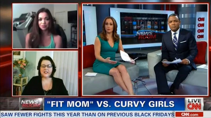 Fit Mom to Curvy Girl: You Can 'Just Tell' If a Person Is Unhealthy