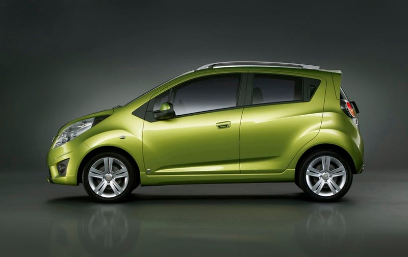 Chevy Spark: Little Green Machine Officially Gets New Name In Geneva