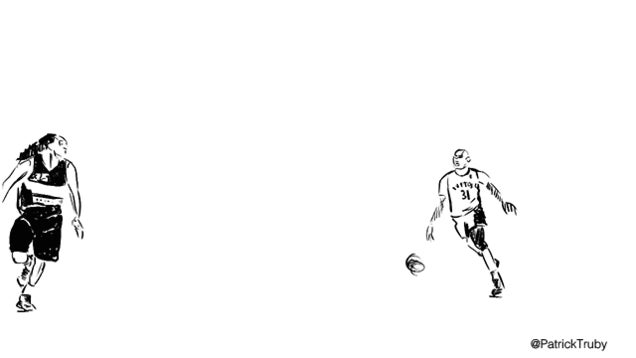 Gallery: Patrick Truby's Awesome Rotoscope Animations Of NBA Players