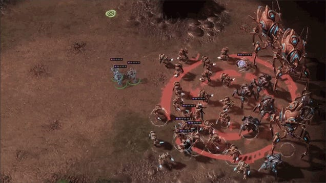 What Losing In StarCraft Really Feels Like