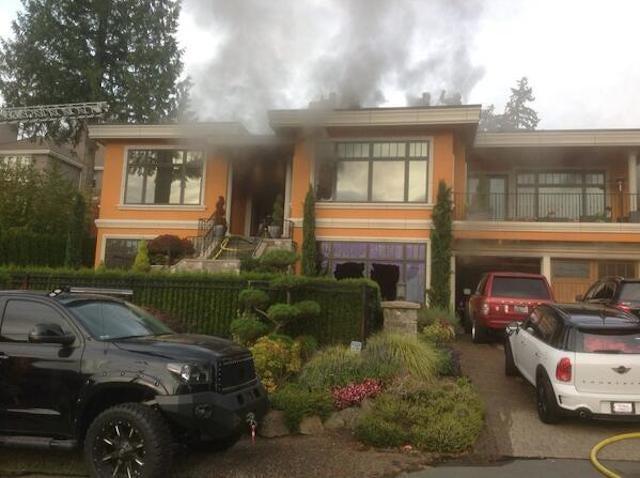 Here's Felix Hernandez's House On Fire