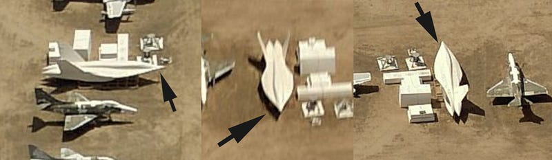 Mysterious Stealth F/A-18 Test Article Is Indeed A Fully Formed Specimen