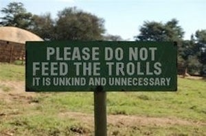 How to Stop Caring About Trolls and Get On With Your Life
