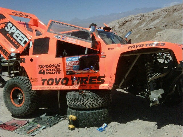 Robby Gordon Trades Dakar-Ready Hummer For Fiat 147
