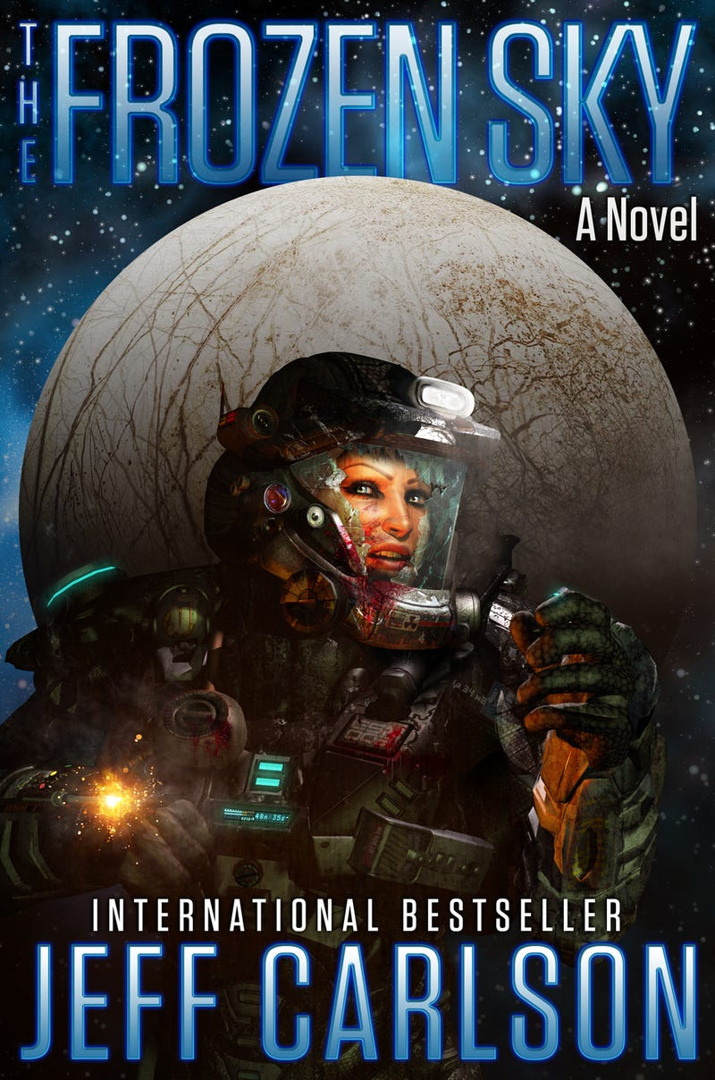 Dive into Jupiter's moon Europa with this excerpt from Jeff Carlson's The Frozen Sky