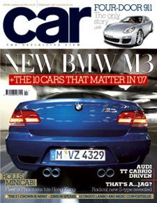 Car Magazine Editor on BMW M3 Spec Images