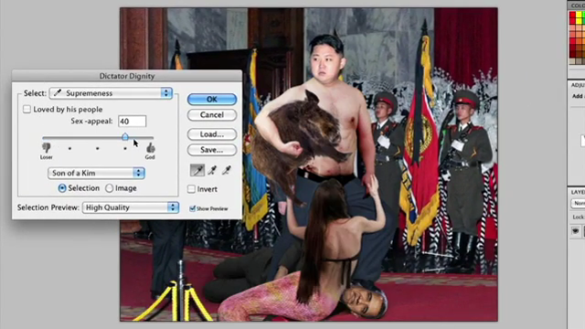 Photoshop Tutorial, North Korea Edition