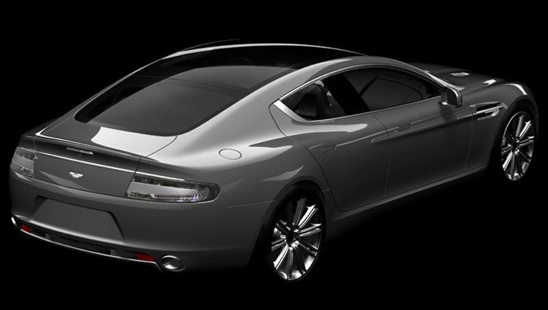 Aston Martin Rapide: Hot Rear Action