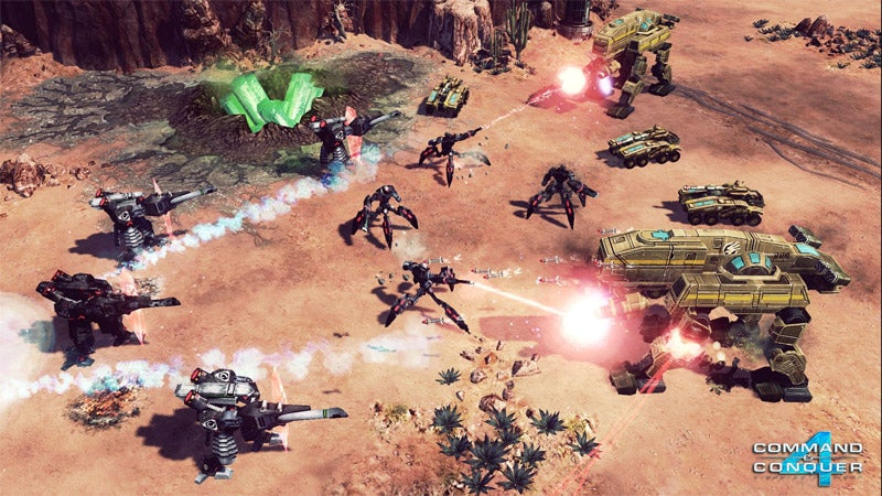 Command & Conquer 4 Gets Release Date, Preorder Bonuses