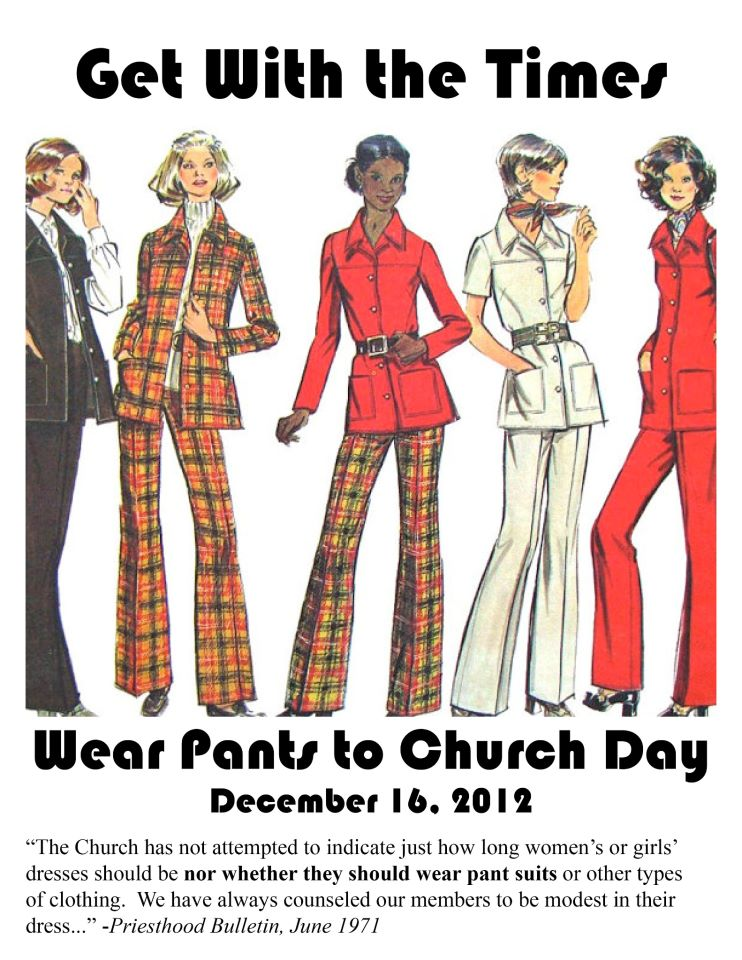Mormon Feminists Under Fire for Encouraging Women to Wear Pants to Church