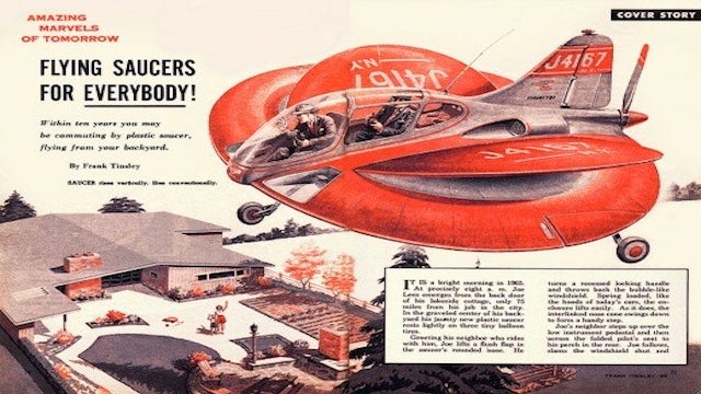 Coming Never: Flying Cars