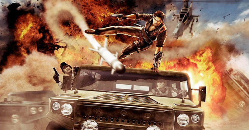 Just Cause 2 Impressions: In Which Everything Explodes, Awesomely