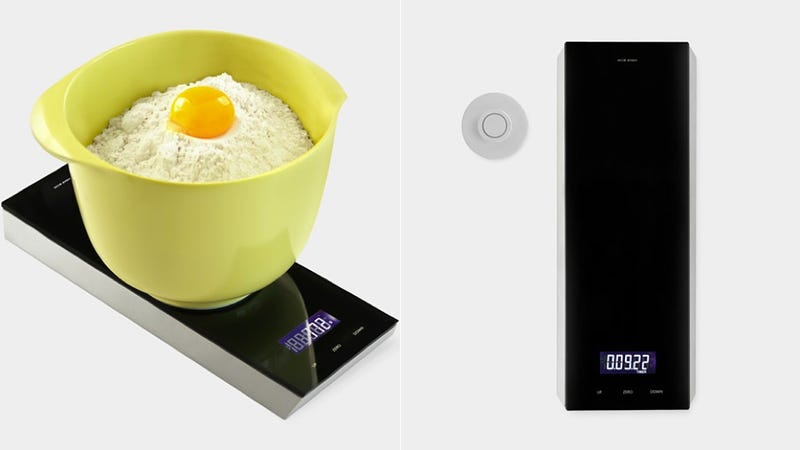 A Sleek Scale For Your Kitchen (Or Modern Art Museum)