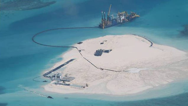 Why China's Building a Military Base in the Middle of the Ocean