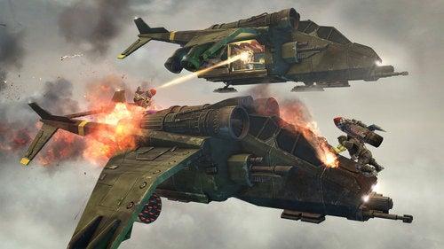 Warhammer 40K Space Marine Screen Shots