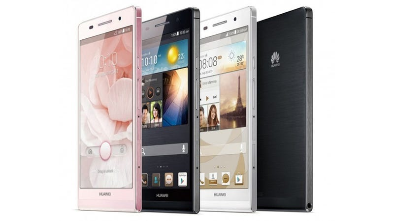 Huawei Ascend P6: The World's Skinniest Phone Is a Metal-Clad Beauty