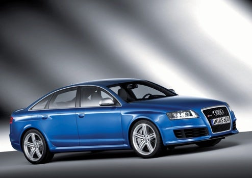 2009 Audi RS6 Sedan, Revealed: Twin-Turbocharged Four-Door Power!