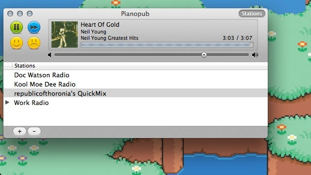 PianoPub Is a Lightweight, Free Pandora Player for Mac