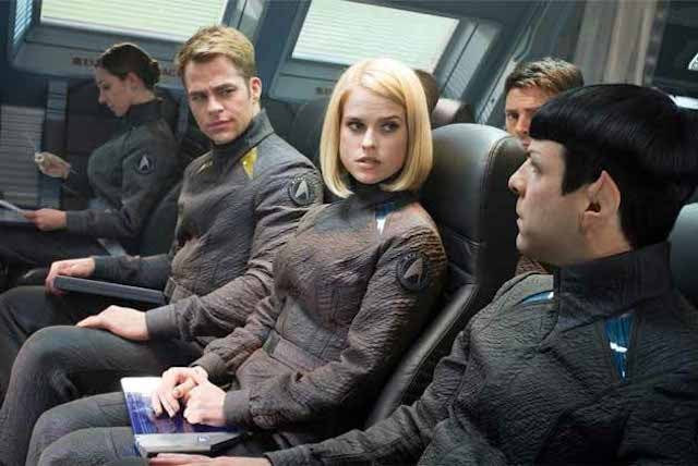 Watch all those new Star Trek Into Darkness deleted scenes here