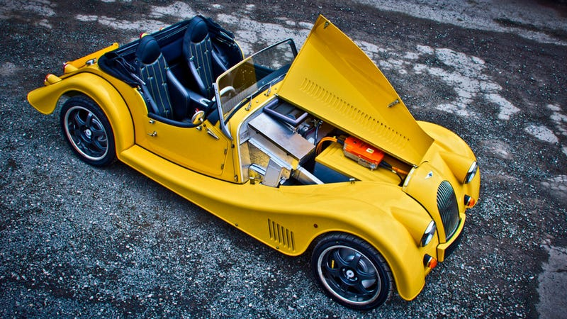 Morgan's Plus E Electric Roadster Has A Manual Transmission