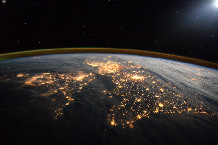 Tim Peake Is Capturing Stunning Images of Northern Europe From the ISS