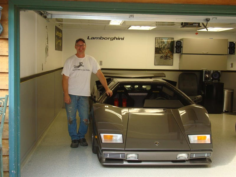 Countach Guy Needs Help: Basement-Built Lamborghini Fans Lead To Huge Web Hosting Bill