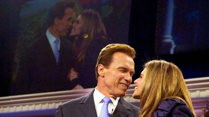 Arnold and Maria Still 'Love Each Other Very Much'