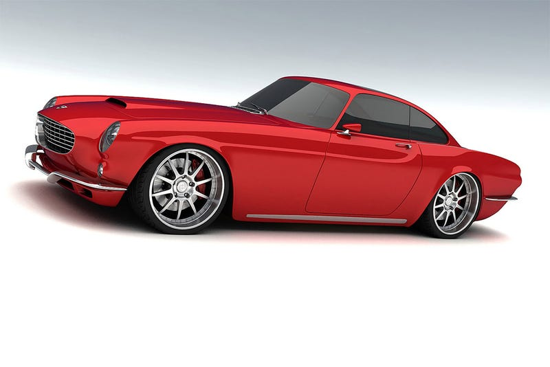 600 HP V8-Powered Volvo P1800 Re-imagined By Koenigsegg Engineer