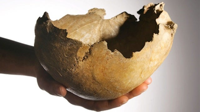 Ice Age People Used Human Skulls As Cups