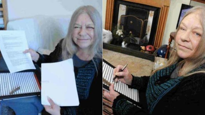 The Police Saved a Blind Woman's Invisible Writing