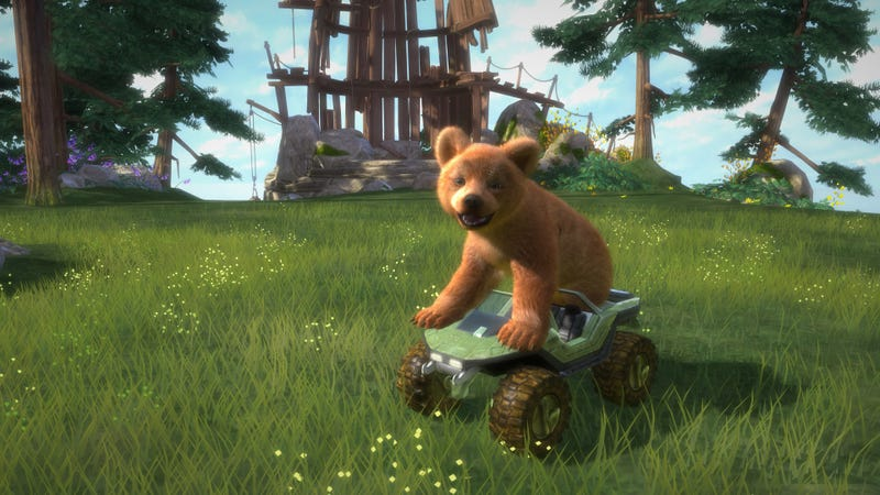 You Know What Kinectimals Needs? Bears