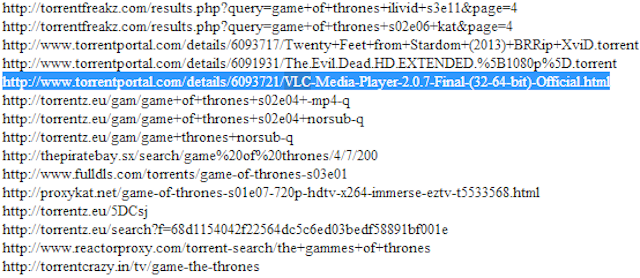 Huh, HBO Gave Google a Copyright Takedown Request for... VLC